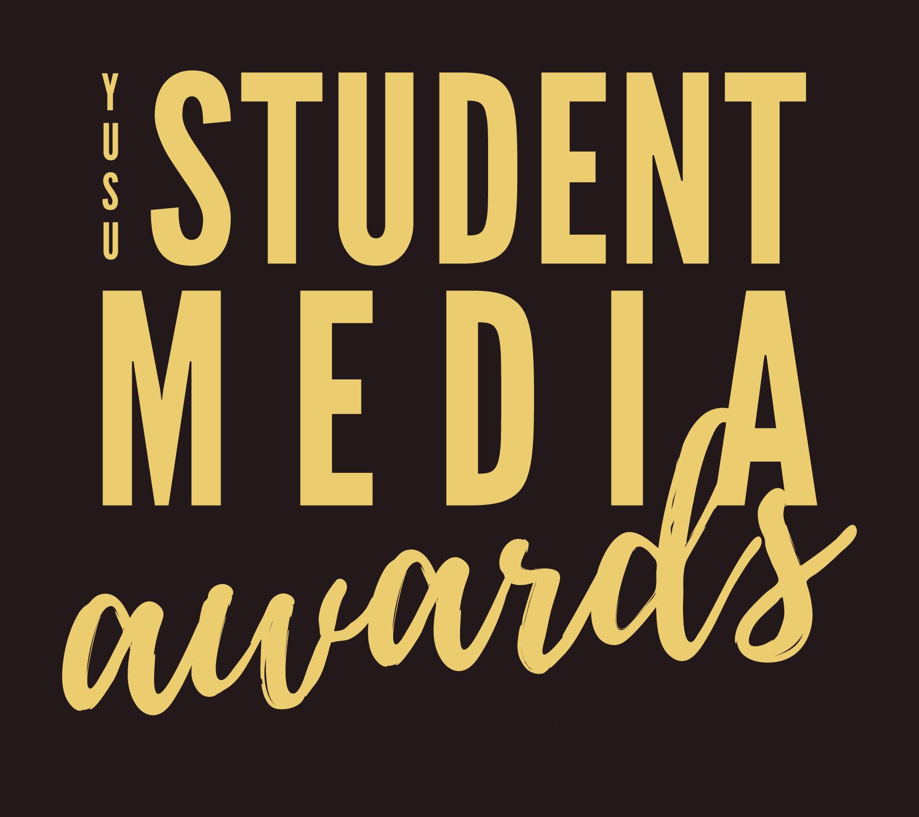 YUSU Student Media Awards logo